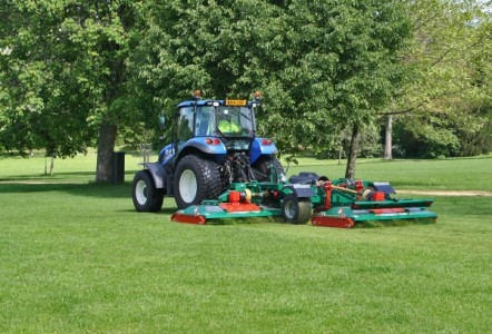 Roller mowers firmly in the running
