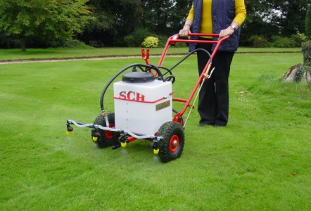 Spraying is made much easier by using the correct equipment.