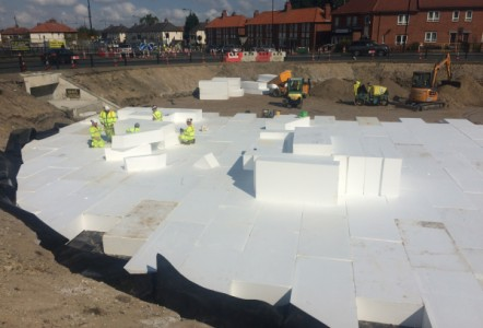Sundolitt EPS improves £4.3m road junction in Newcastle