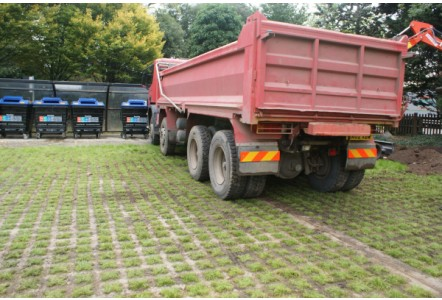 Sustainable Grass Paving
