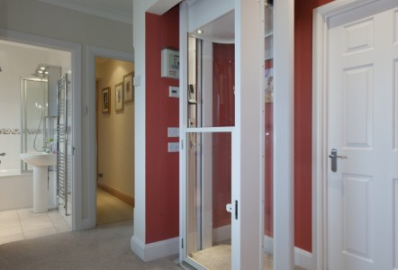 THE EASY-TO-INSTALL HOME LIFT WHICH  FITS EASILY INTO ANY BUILDING PROJECT