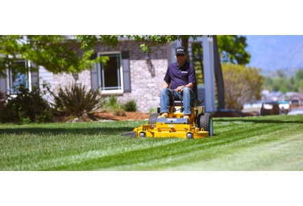The Model R is the perfect Walker Mower for residential properties.