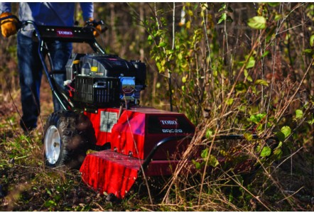 Toro® Grandstand® stand-on mower with rear discharge