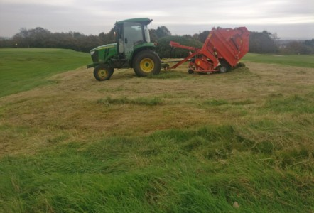 Wiedenmann kit moves Bolton Old Links GC  rough management up a gear